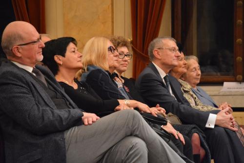 Pan Konsul Austrii wśród publiczności.