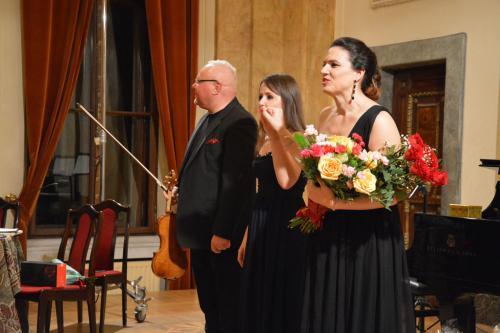 Piotr Gładki, Wioletta Fluda i Katerina Hebelkova.