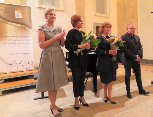 Jolanta Omilian, Elżbieta Gładysz, Olga Cymbaluk, Tomasz Pasternak
