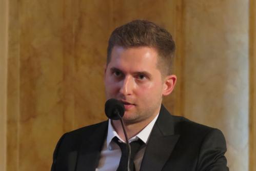 Michał Sławecki - kontratenor.