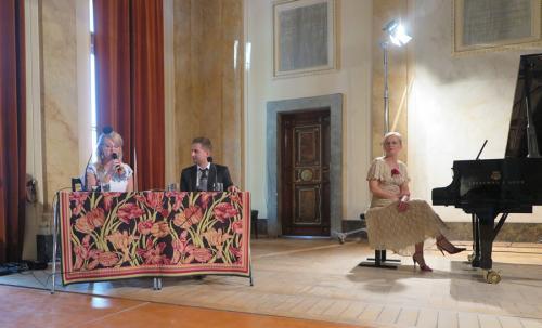 Na scenie Auli Florianka Elżbieta Gładysz, Michał Sławecki, Renata Orzechowska