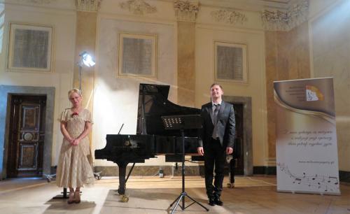 Renata Orzechowska i Michał Sławecki