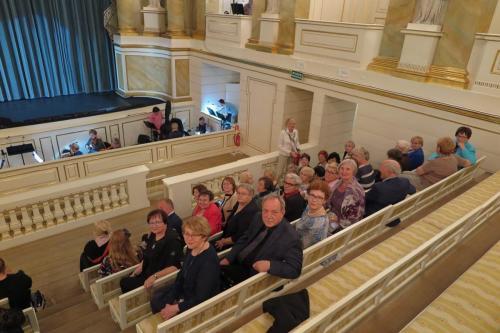 Członkowie ARII na widowni Teatru Stanisławowskiego.
