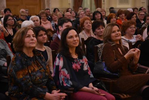 Publiczność szczelnie wypełniła Salę Didura Opery Śląskiej.