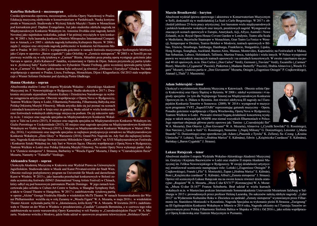 Folder koncertowy strona 2-3