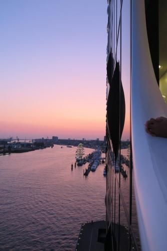 13. ZAchód słońca - widok z balkonu.