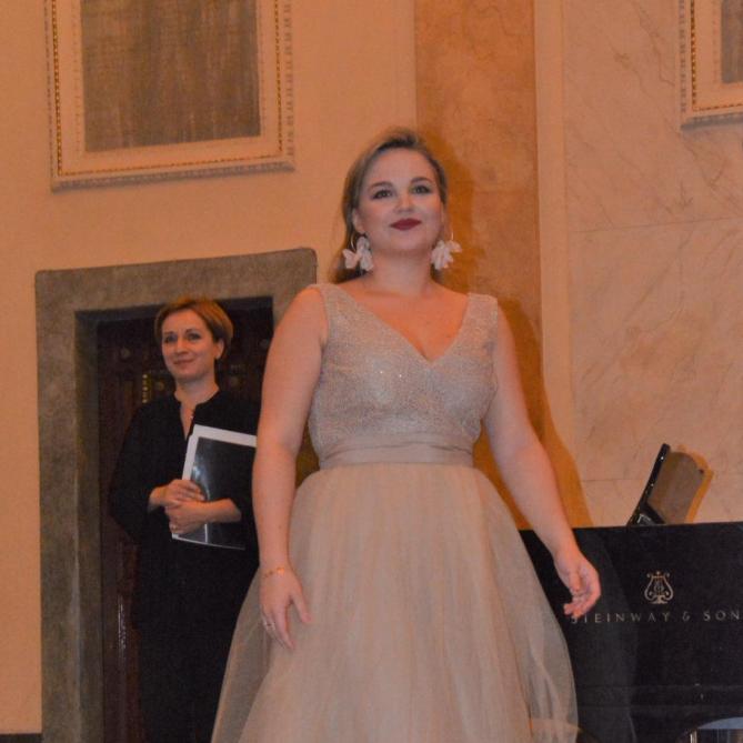 Gabriela Gołaszewska na scenie Florianki