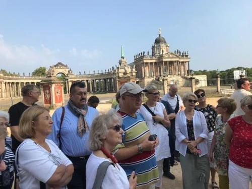 3. Zwiedzamy Sanssouci
