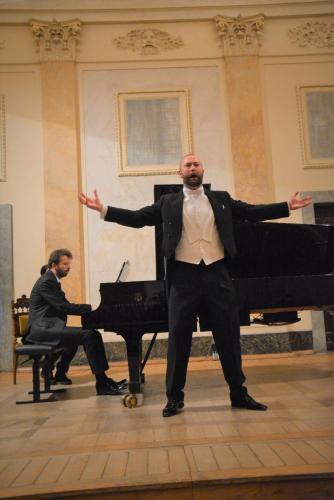 4. Łukasz Konieczny, przy fortepianie Lech Napierała