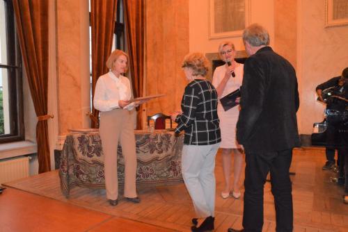 Dyplom Aktywnego Członka ARII dla Państwa Barbary i Jerzego Hanarzów
