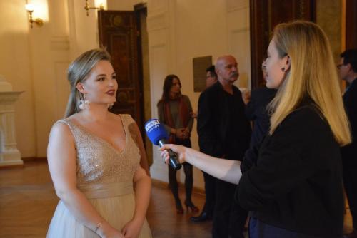 Gabriela przed kamerą TVP3