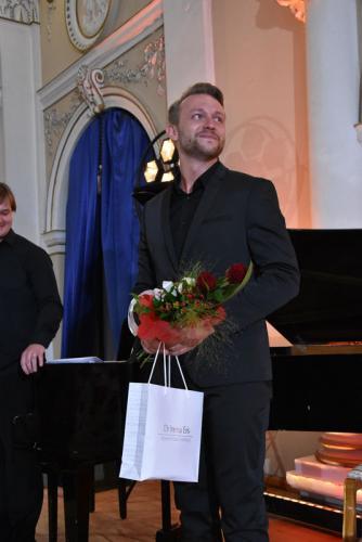 Hubert Zapiór na scenie