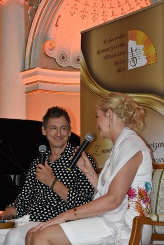 Maciej Miecznikowski - gość ostatniego Krynickiego Spotkania z Artystą