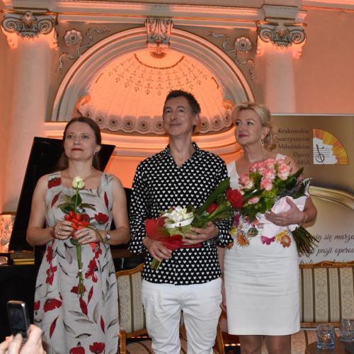 Marta Lizak, Maciej Miecznikowski i ElBieta Gładysz