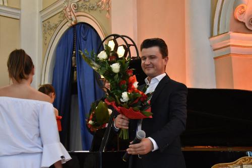 Łukasz Gaj -gość pierwszego Kr. Sp. z Art.