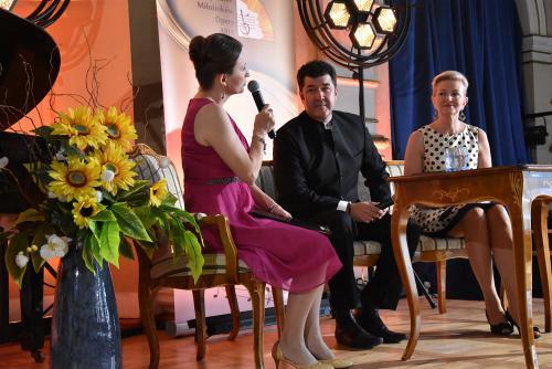 Marta Lizak z Luisem Chapa i El. Gładysz