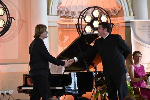 Krzysztof Dziurbiel - nasz pianista z Luisem Chapą