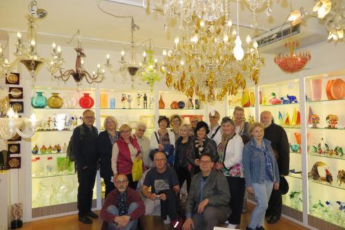 Murano- zakupy wyrobów ze szkła .