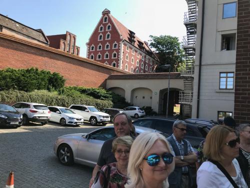 Wejście do Hotelu Bulwar w Toruniu.