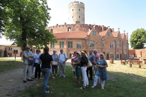 Nasza grupa przy wejściu do Twierdzy Gdańsk